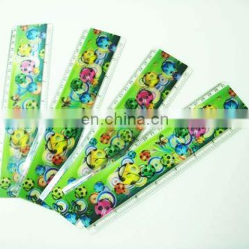 high quality lenticular effect UV printed height ruler