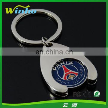 Enamel Trolley Coin Key Holder