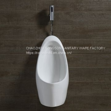 Chaozhou most popular sale ceramics wall mounted waterless urinal American standard toilet bowl partition for male