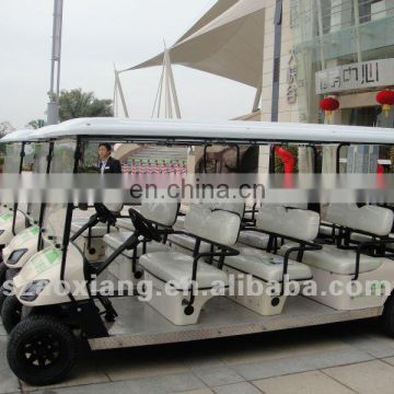 New electric sightseeing cars for sale, cheap sightseeing cars with sport, tourism place and hotel use