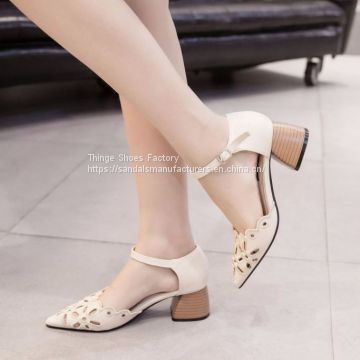 POINTED COMFORTABLE WOMEN SANDALS
