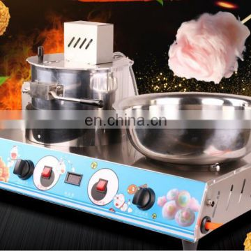 Electric cotton candy making machine for sale small household colorful candy maker machine