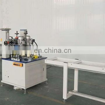 Aluminum Profile Knurling thermal break Machine with Strip Feeder