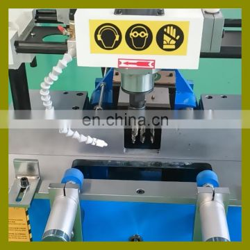 2016 OEM new automatic precision Aluminum window door machine for lock slot drilling and copy milling