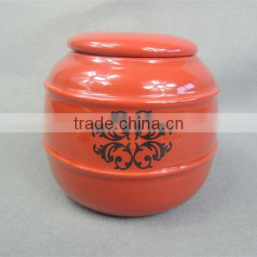 Best-selling cheap natural finish ceramic urns for ashes