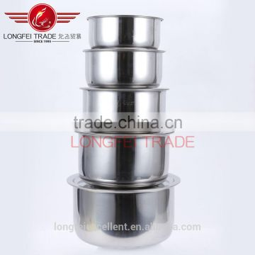 most popular wholesale large capacity stainless steel soup pot sets
