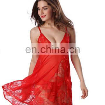 Dropship hot selling sexy transparent lingerie Wholesale