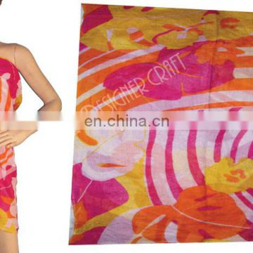 cotton beachwear pareo & sarongs