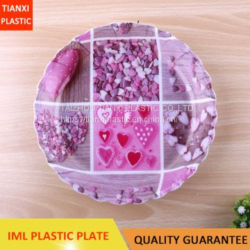 TX212 PLASTIC NICE PLATE CHEAP TRAY CHINA PLATE