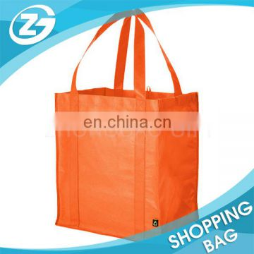 OEM Made Customer Size and Logo Multicolor Reusable Nonwoven Shop Tote Bag for Food