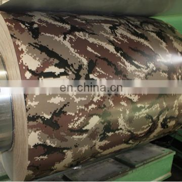 Camouflage series  PPGI - Prepainted Galvanized Steel Coil PPGL Coil, Color Coated Coil