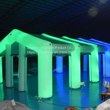 5006624-Night Club Inflatable LED Tent for for Party, Event, Exibition