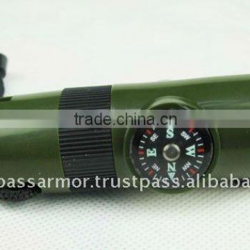 multi-function whistle, compass
