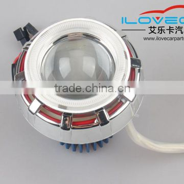 2.0 inch Motorbike projector lens led headlights with devil eyes,cotton color changing angel eyes