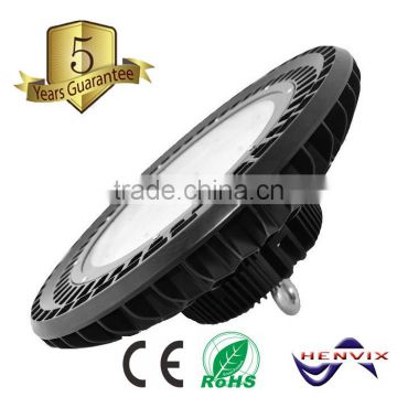 5 years warranty IP65 ufo led high bay light, 150w high bay led light