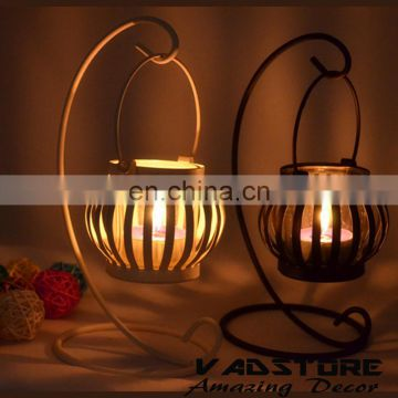 VADH01 pumpkin candle holder roast metal pumpkin candle holders christmas candle holders