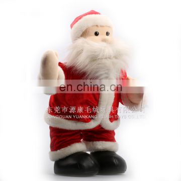 Christmas decorated Plush Santa Claus& Father Christmas Plush& Christmas gifts