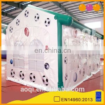 2015 latest design sealed cabin house shape inflatable tent for party for sale