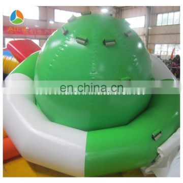 Hot sale water inflatable spinner saturn rocker for lake