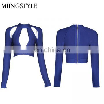 fashion sexy hot sale sexy women blouse in stock lady bandage top