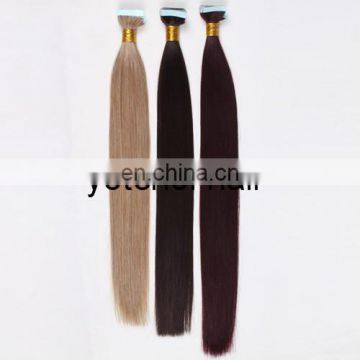 Hot Sales For 2015 Remy Hair Extension Adhesive Tape Hair Extension
