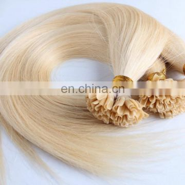 Wholesale Italian keratin I tip indian remy hair 100 human hair extensions
