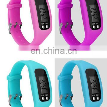 Wholesale china factory colorful silicon watch sports watch led watch