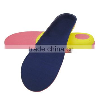 EVA sport insole flat foot orthotics cushioned arch support for fallen arch correction insoles for shoe