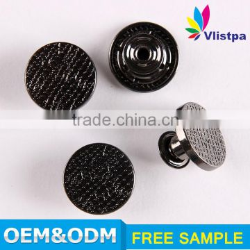 Custom SGS certificated antique shirt button laser engraved buttons all types of clothing buttons