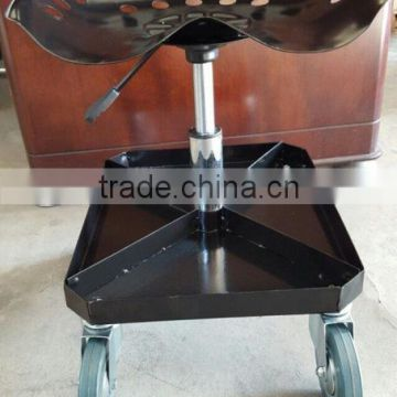 Charmant TC4508 Rolling Garage Chair With Metal Tool Tray ...