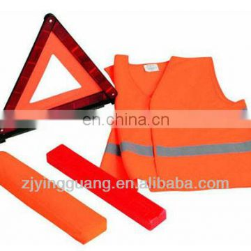 Promtional Car Emergency Warning Safety Kits With Safety Vest