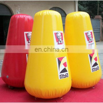 digital printing drumstick buoy for water event promotion