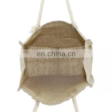 Hot Sale Jute Beach Bag