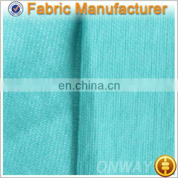 Onway Textile bond/print/bronze/jacquard/dye/brush/embossed/crushed/burn-out knit polyester fabric