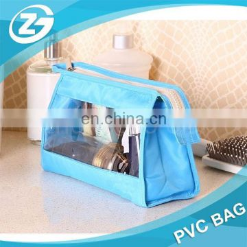 PVC Makeup Case Organizer clear pvc zipper pouch bag