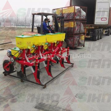 4 Rows Tractor Traction Corn Seeder +86-18006107858