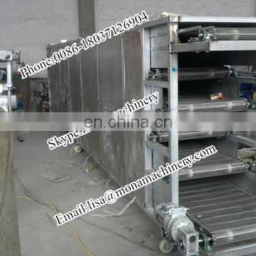 Professional briquettes dryer mesh belt dryer chain plate dryer