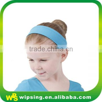 High stretch cotton baby headband for dance