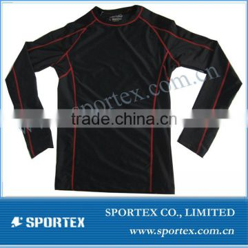 2015 new design compression t shirt for men