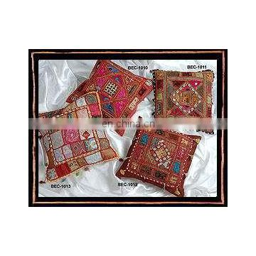 indian hand luxury embroidered cushion covers