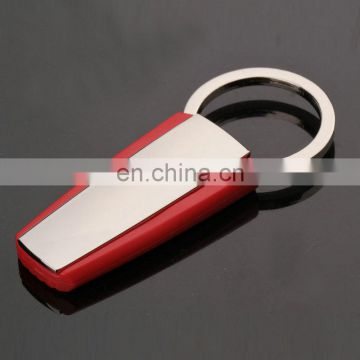 Custom logo rubber key chain plastic silicon keychain