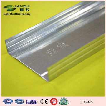 Factory oem 100*35mm rust proof galvanized steel partition u channel with 110g zinc