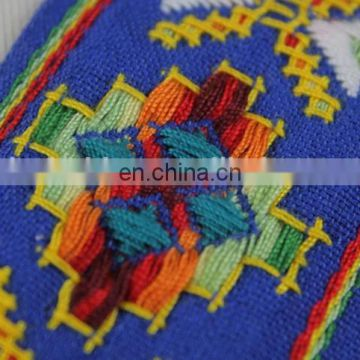 High quality embroidery jacquard ethnic ribbon trim for garment accessories