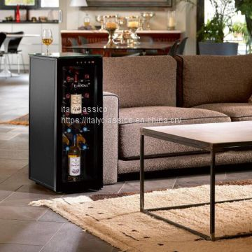 The EUROCAVE wine cabinet is a high-end wine cabinet with three floors in Italy