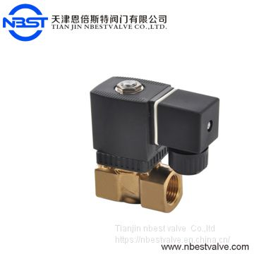 220v Ac Dn15 Pilot Operated Brass High Pressure Solenoid Valve