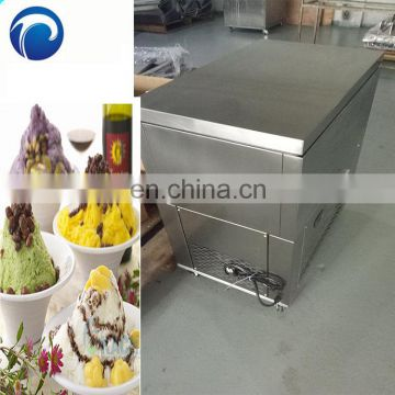 hot sell snow ice making machine ice freezer and ice shaver