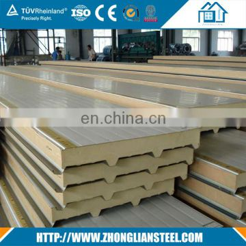 High quality 50mm Polyurethane PU Sandwich Panel