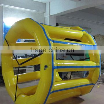 Interesting welcomed inflatable water roller hamster wheel, inflatable water roller hamster toys on sale