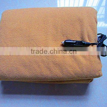 2014 hot sale health car 12v warm safe car electric heating blanket
