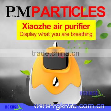 Private Labeling USB powered Mini Xiaozhe Air Purifier for car and home use